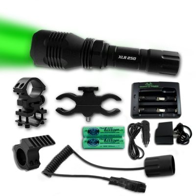 Picture of The Kill Light XLR250 Gun Mounted Coon Hunting Lights Set