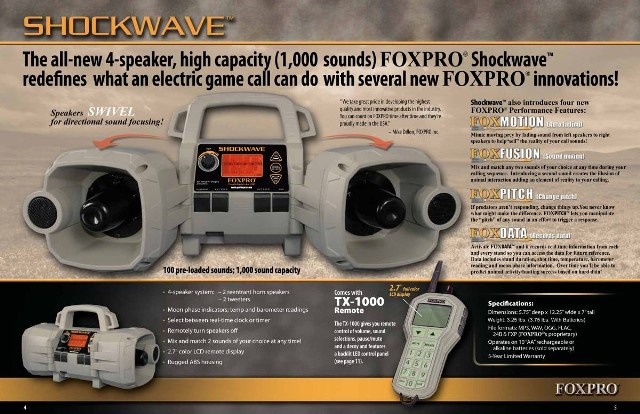 FOXPRO Shockwave Infographic