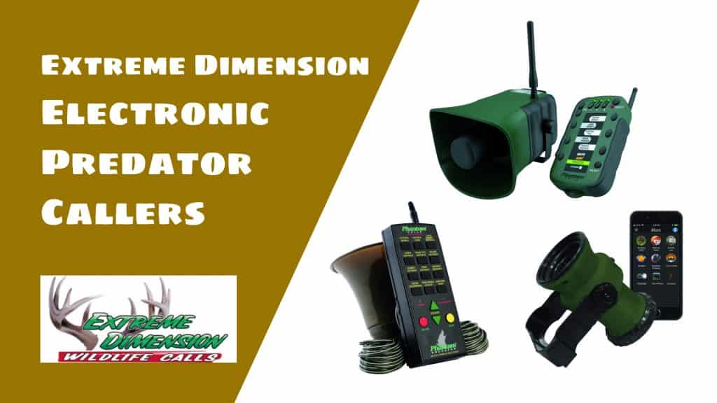 Best Extreme Dimension Electronic Predator Callers