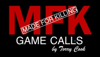 MFK - Made For Killing Game Calls - Torry Cook - Logo