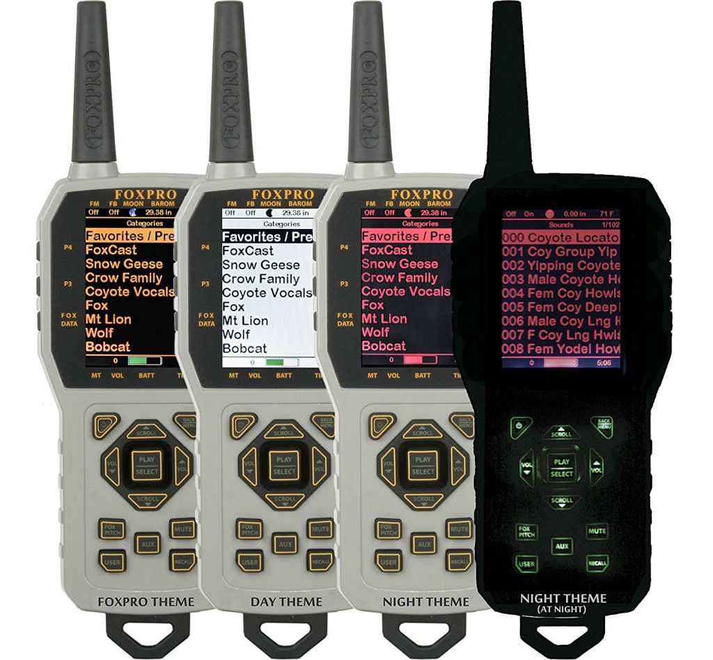 FOXPRO Fusion Digital Game Call - Remote Display Modes